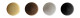 Колпачки декор. для шур. бордо (1000)                2