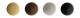 Колпачки декор. для шур. черные (1000)            3