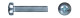 Винт п/ц DIN7985  М6х50 (2000)     1500