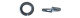 Шайба гроверная DIN127 М 3 цинк (25кг)  (16393шт.=1кг)