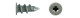 Дюбель для г/к DRIVA металл. со сверлом 14х28 (120)