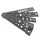 Анкерная пластина 150 мм для профиля  КБЕ  VEKA (300)      (4675)