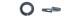 Шайба гроверная DIN127 М 8 (0,500кг) цинк