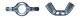 Гайка барашковая  M 8 DIN 315 (154шт/1кг)  4000