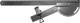 Транспортир-поводок для электролобзика, 550 мм