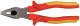 Плоскогубцы «Электро-2», 1000 В, высокоуглеродистая сталь, прорезиненные ручки комбинированные 180мм