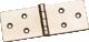 Петля карточная 110*40цинк (100)