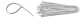 Бандаж нейлон. КСС бесцветн. 3х 150 (100)