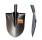 Лопата штыковая, универсальная, рельсовая сталь (Россия)