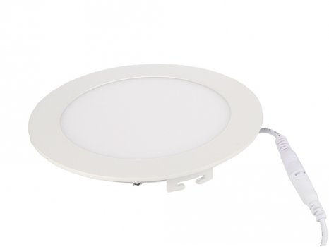 Светильник LUNA LED DLR 15W 4000K д190*12mm downlight /60495