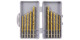 Набор сверл №67 Стандартный ПРО (3-5 мм) 10 предметов нитрид-титан 3,0-3,3-3,5-4,0-5,0