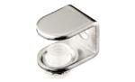 Полкодержатель для стеклянных полок PD GLА с фиксацией никель