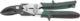 Ножницы по металлу  260мм Kraftool правый рез