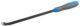 Монтировка ЗУБР «ЭКСПЕРТ» кованая,Cr-V, c двухкомпонентной рукояткой и стальным затыльником 10,3х450